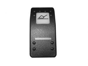 Cover return to dig switch soft touch 3CX 4CX JCB